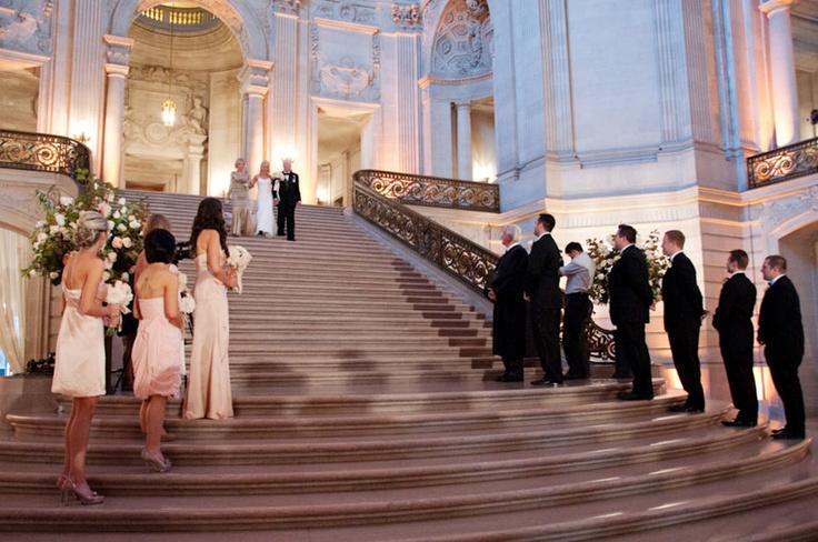 Global gourmet weddings sf city hall wedding ceremony for City hall wedding ideas