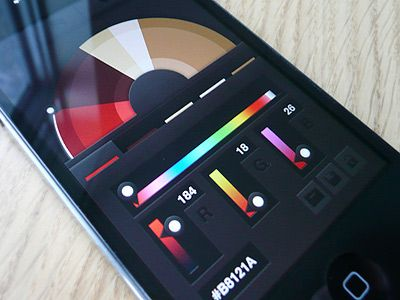 Swatch Palette app concept for those that are bad at remembering colors like me.