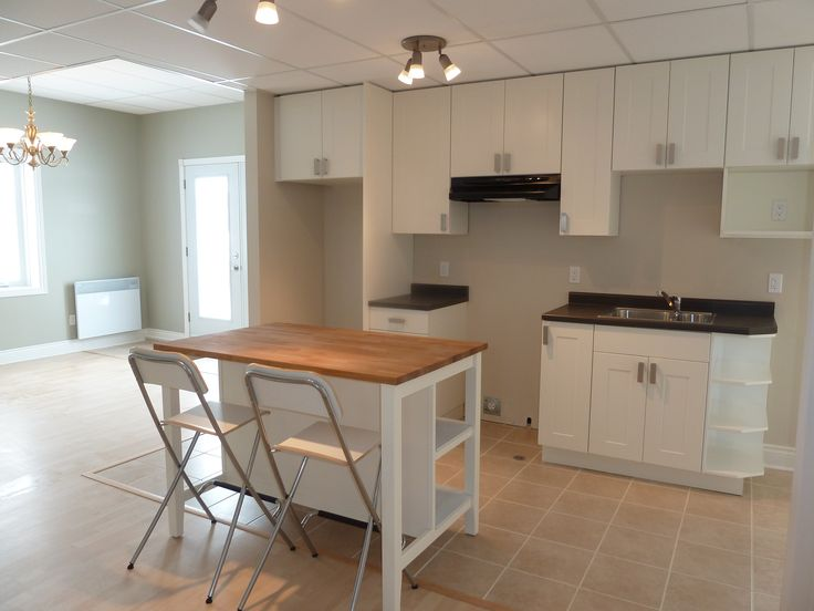 1000 ideas about small basement apartments on pinterest for Small basement kitchen ideas