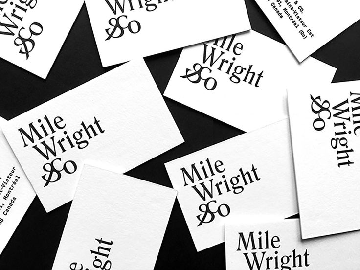 Mile Wright & Co. Branding by @Nouvelle Administration See more: https://mindsparklemag.com/design/mile-wright-co-branding/  More news: Like Mindsparkle Mag on Facebook