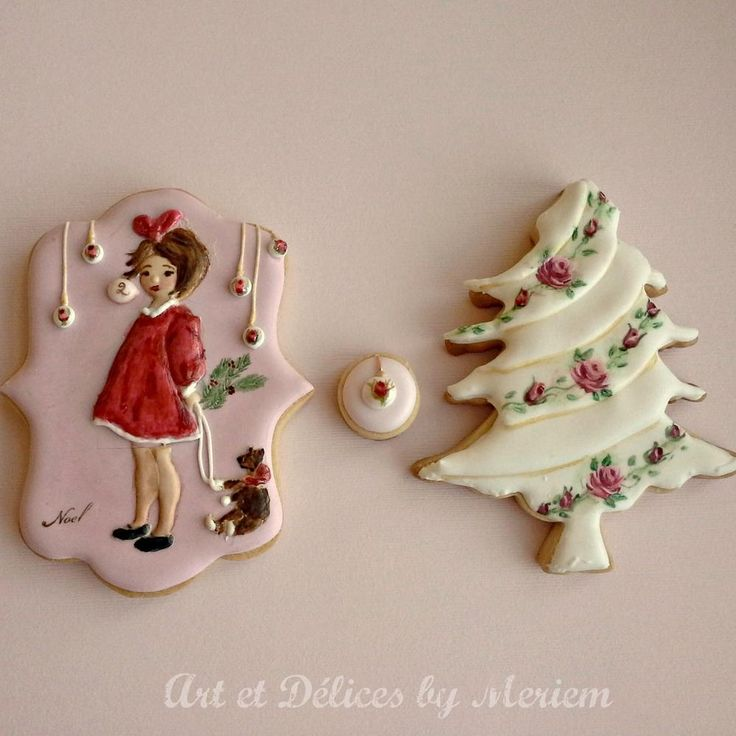 Vintage Christmas cookies set | Cookie Connection