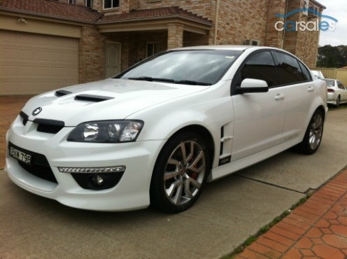 Lovin hubby's new clubby, identical to this pic! 2010 HSV CLUBSPORT E Series 3 R8, lucky boy!