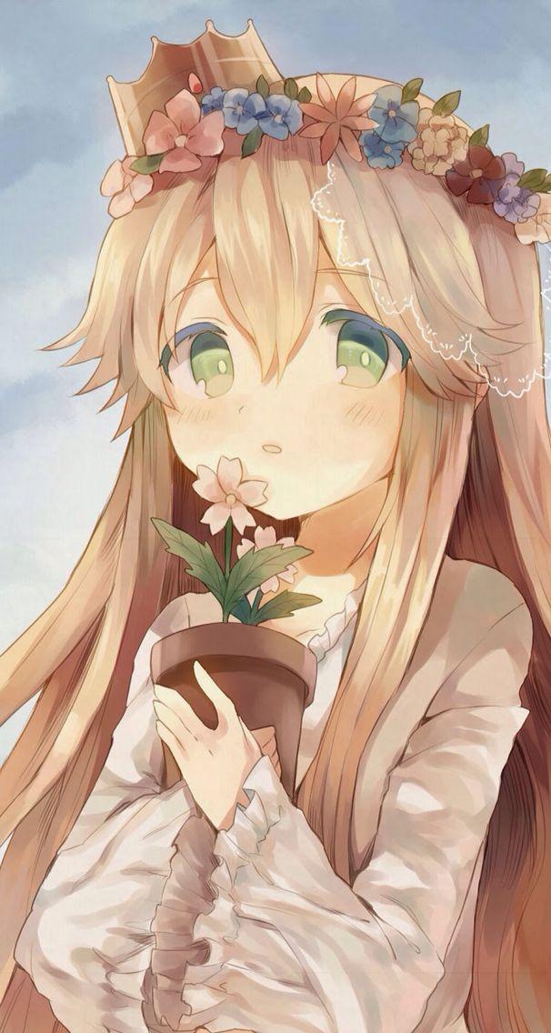 Cute princess anime manga pinterest plants potted - Manga princesse ...