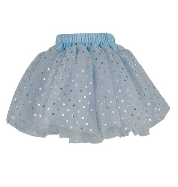 Bob and Blossom Grey and Silver Spotty Party Tutu Skirt