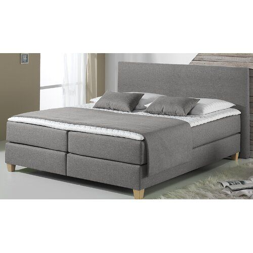 Boxspringbett Bowerman 17 Stories Liegeflache 160 X 200 Cm
