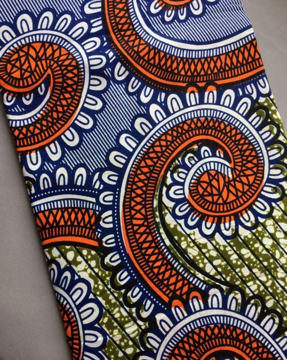 Afrikanischen Stoff Meterware Afrikanischen Paisley Print Stoff