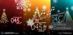 Christmas countdown for android with Christmas Carols