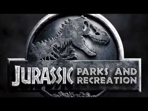 "This Hilarious ""Parks And Rec"" And ""Jurassic Park"" Mash-Up Has Andy Dwyer Fighting Off Dinosaurs"
