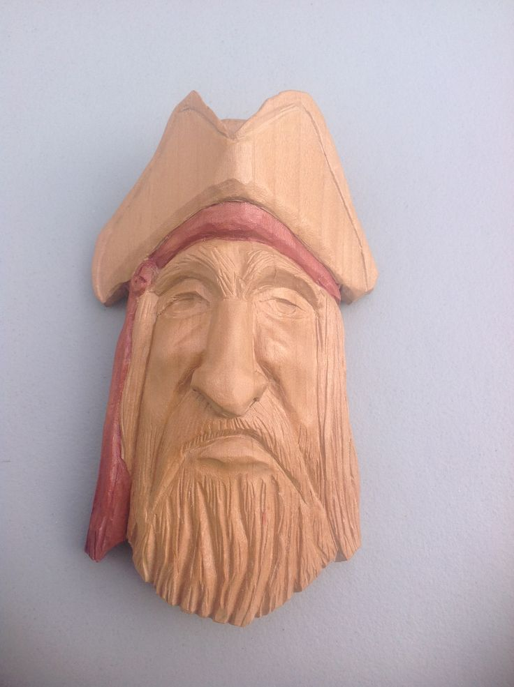 Old pirate by ron moss carvings pinterest