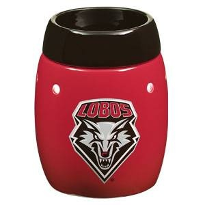 University of New Mexico Lobos  - this is the safe (without the safety risks of a burning candle ), wickless alternative to scented candles. This wickless concept is simply decorative ceramic warmers designed to melt scented wax with the heat of a light bulb instead of a traditional wick and flame.