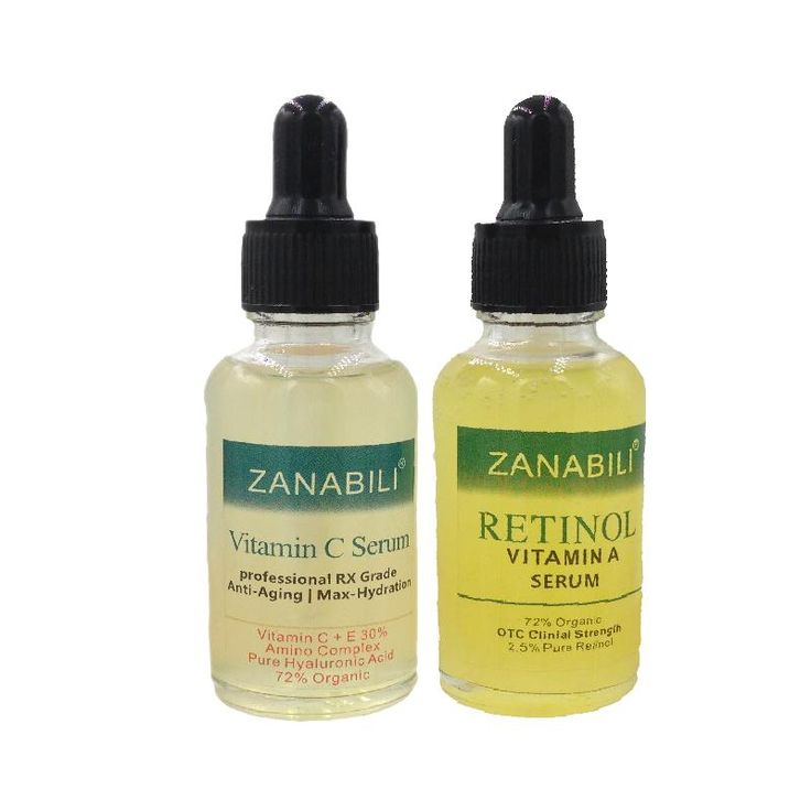 [Visit to Buy] ZANABILI Pure Retinol Vitamin A 2.5%  +  30% Vitamin C + E 100% HYALURONIC ACID Facial Serum  Anti-Aging Moisturizing Face Cream #Advertisement