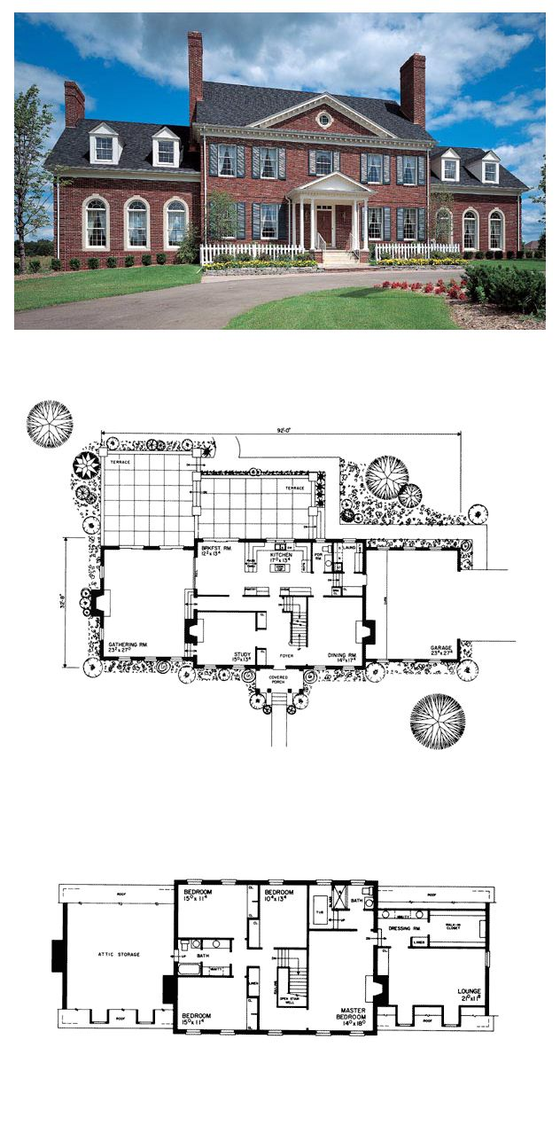 best 25 georgian style house ideas on pinterest georgian style colonial plantation house plan 90297