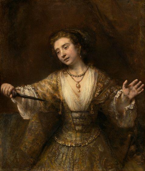 Rembrandt van Rijn Dutch, 1606 - 1669 Lucretia 1664