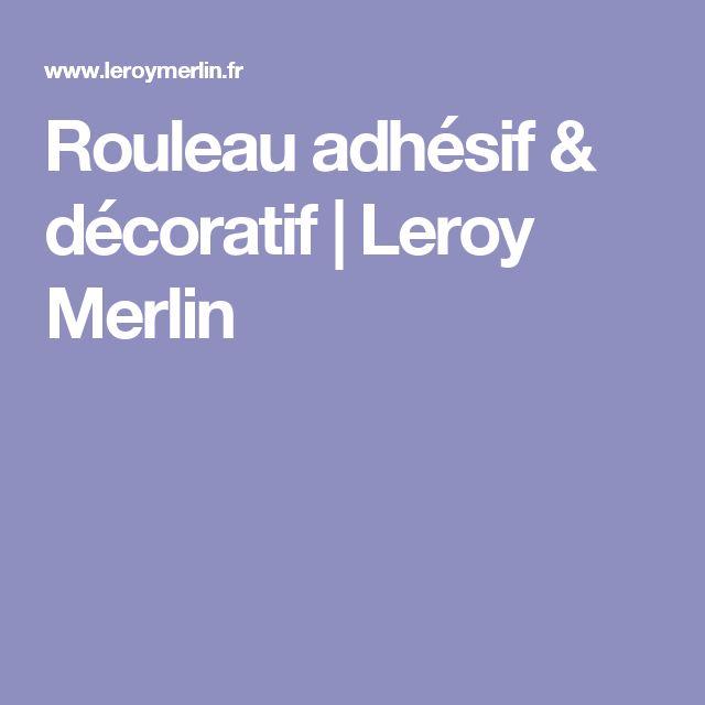Rouleau adhésif & décoratif | Leroy Merlin