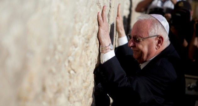 Reuven Rivlin Tells Reform Leaders 'We're One Family'