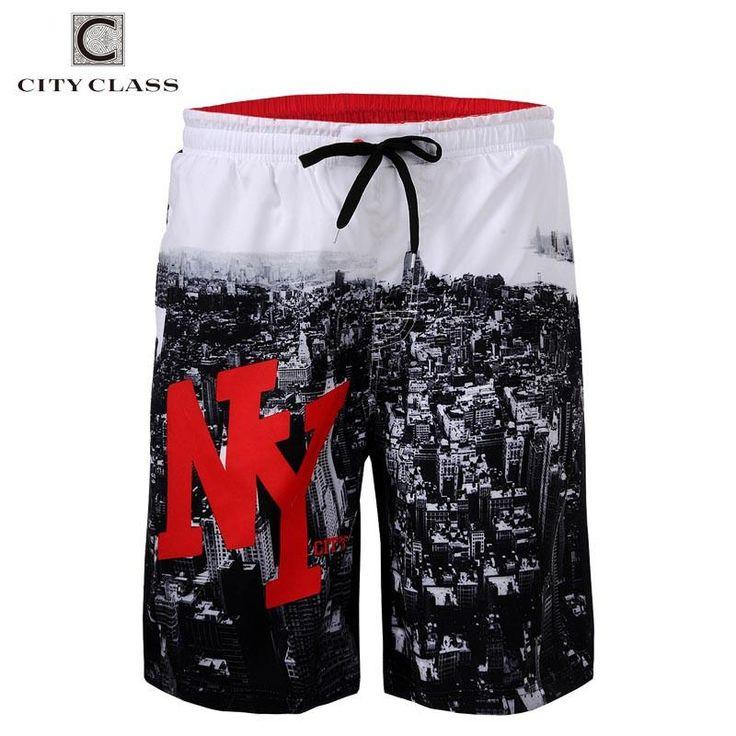 City Class 2016 Mens Summer New Leisure Wild Loose Beach Shorts Regular Length Bermuda Masculina European Size Boardshorts 1743 - 10 MINUS