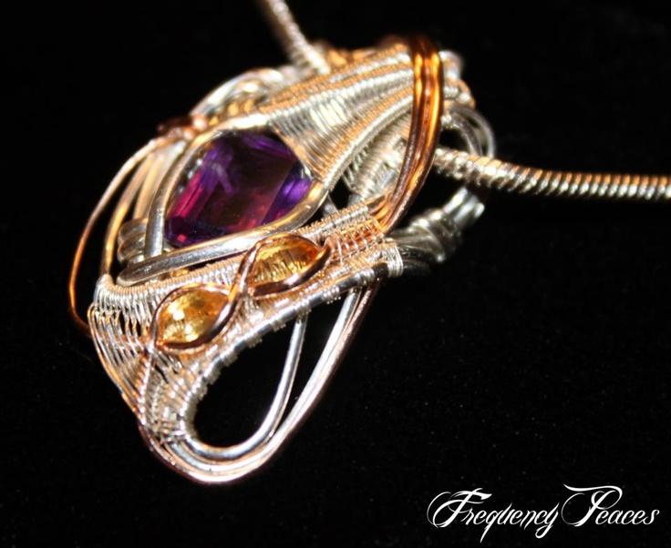 ©Max Barilow #wirewrap #jewelry #wirewrapjewelry
