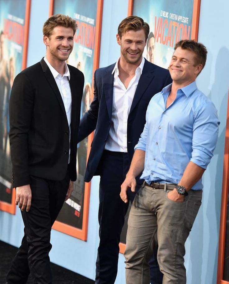 hemsworth brothers together......the third one