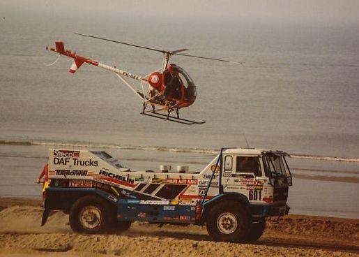 DAF 3600 Jan de Rooij Dakar Rally truck.