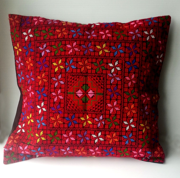 """Summer Sale! Get 20% discount on all our products! Item # 040 Pillow cover 18"""" x 18.5"""" original price $60 Now $48"""