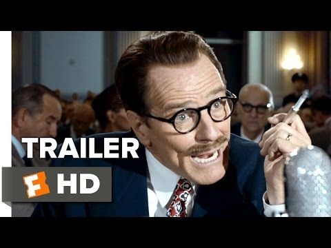 Trumbo Official Trailer - Bryan Cranston, Diane Lane, Helen Mirren Biopic  HD - The successful career of Hollywood screenwriter, Dalton Trumbo, ...