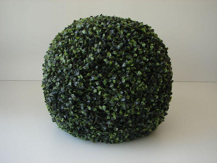 Buxus künstlich Buchsbaum Kugel Ø 43cm Kunstpflanze Kunstbaum Buchsbaumkugel neu