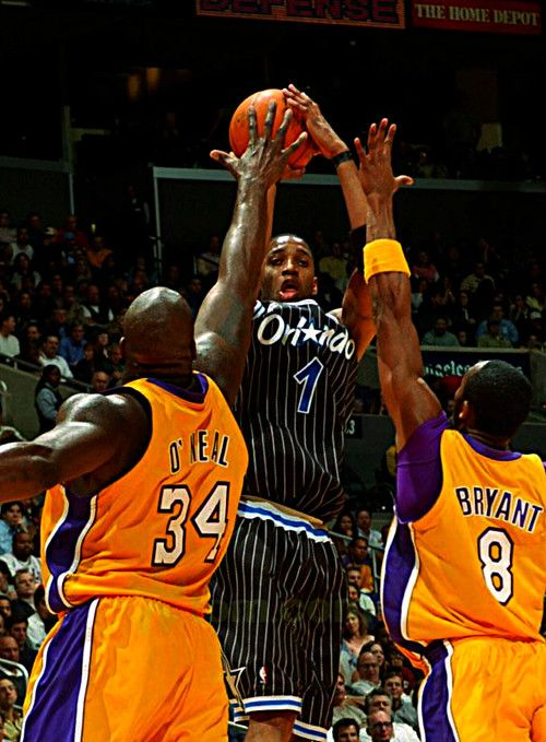 Tracy McGrady, Shaquille O'neal, Kobe Bryant <3 Magic