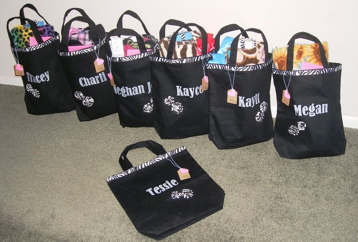 cheerleading craft gifts | think they were a fun way to personalize each girls' gift without ...