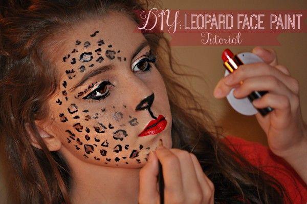 DIY: Leopard Face Paint Tutorial