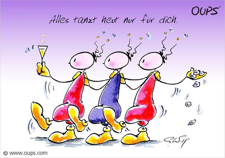 Alles tanz heut nur für dich. ~ www.werteART.com Für eine liebenswerte Welt  http://www.oups.com/shop/oups.html https://www.facebook.com/oupsig/