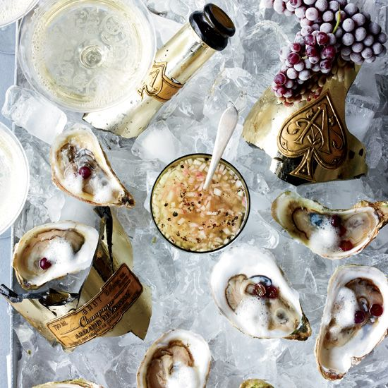 Oysters Rocafella // More Great Oyster Recipes: http://www.foodandwine.com/slideshows/oysters #foodandwine #vday #valentines