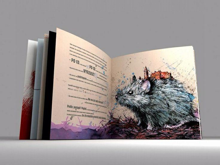Książka dla dzieci Legenda o Królu Popielu