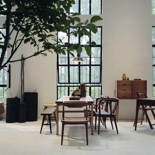 incredible space, windowns, plant (fnji furniture)