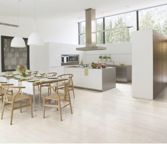 piso de porcelanato travertino elegante white para y pavimentos de attmosferas