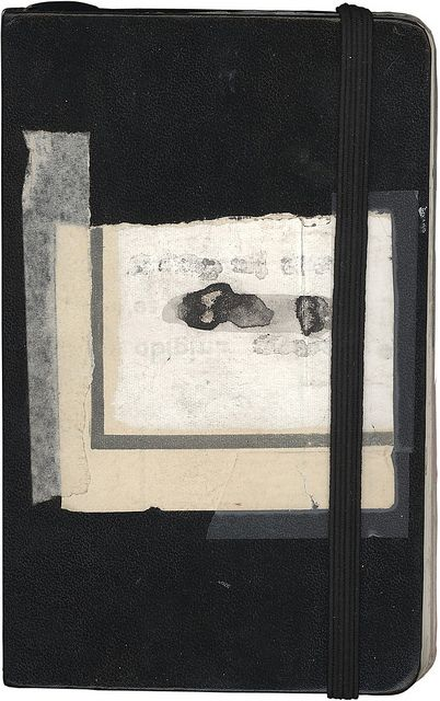 paperphilia:  mianoti:  Untitled by Sofia Del Pedregal  More masking-taped moleskines