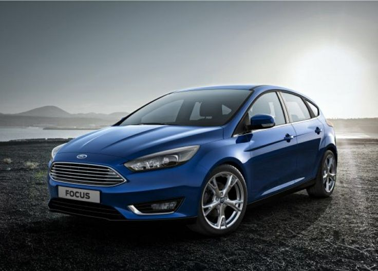 Ford Focus new facelift.