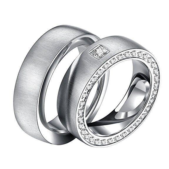 Freundschaftsringe mit gravur  21 besten Ringe Bilder auf Pinterest | Eheringe, Gravur und Edelstahl