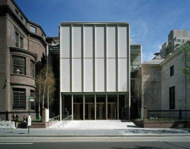 Extension to Morgan Library, NY / Renzo Piano