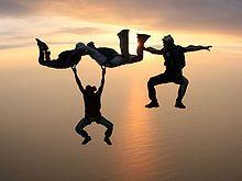Go sky diving