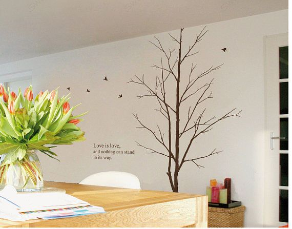 Best Tree Wall Sticker Images On Pinterest Wall Stickers - Bambi love tree wall decals