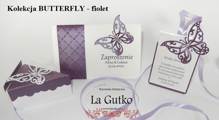 Kolekcja ślubna BUTTERFLY - tylko na lagutko.pl