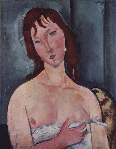 Young woman - Amedeo Modigliani