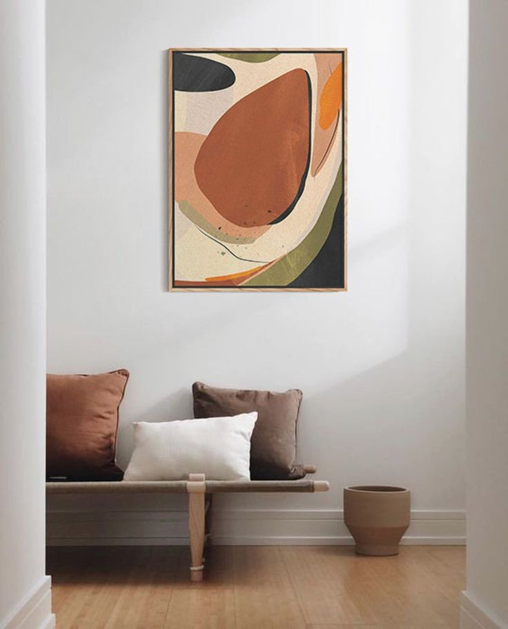 Abstract painting print minimalist large abstract print