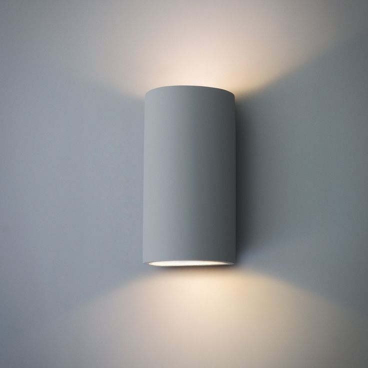 Paintable Trokia Double Warm Led Wall Light Up Down Lighter