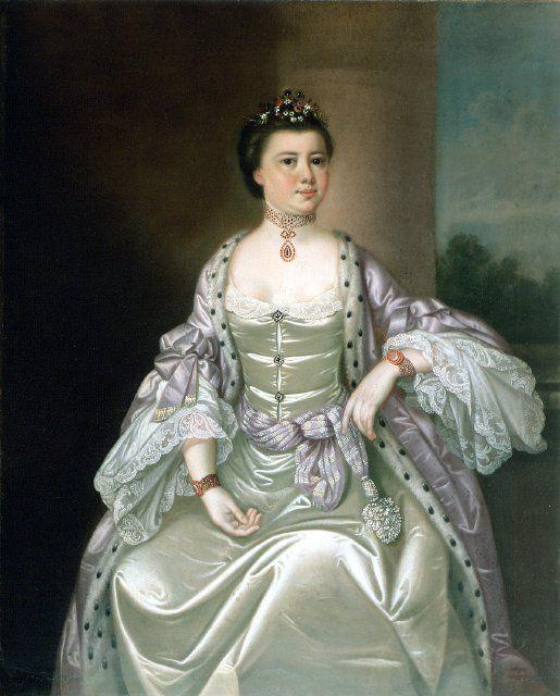 Mary Elizabeth Bellinger Elliott, Jeremiah Theus, ca. 1766; GMA 1930.001.0008