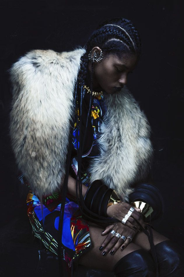 Miyanda Jacobs-Newton by Bryan Huynh for SSENSE F/W 2012-13.