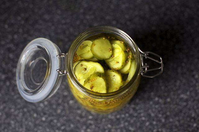 Homemade bread and butter pickles by smitten~T~ We love these at our house and friends always ask for them. Everyone gives me cucumbers from their garden and I make big batches.