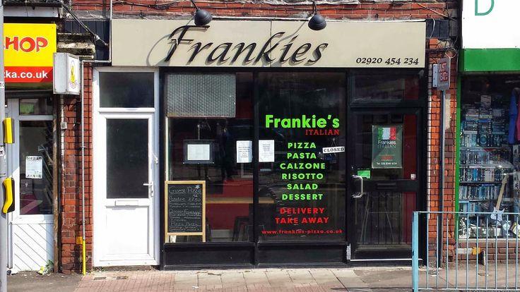 GourmetGorro: Frankie's Italian, Cardiff, Pizza takeaway review