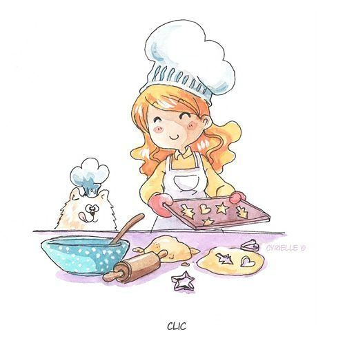 La jeune pâtissière gif