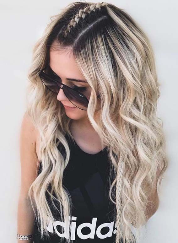 Long Hair Models – Want to wear some kind of unique braids to keep you completely …   – lange Haarmodelle